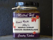 Mistrall Hill Maple Syrup onion Marmalade